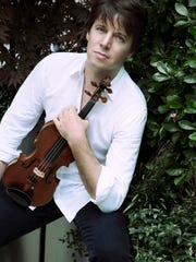 Violin virtuoso Joshua Bell takes the stage at Kohler Memorial Theatre on Nov. 4 with pianist Alessio Bax to open the 2016-17 Distinguished Guest Series.