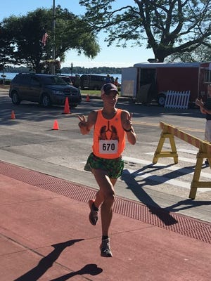 St. Clair High School graduate and current Ferris State University runner Trevor Holowaty.