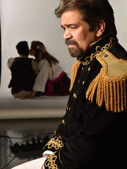 Galen Fott as Leontes in Nashville Shakespeare Festival's