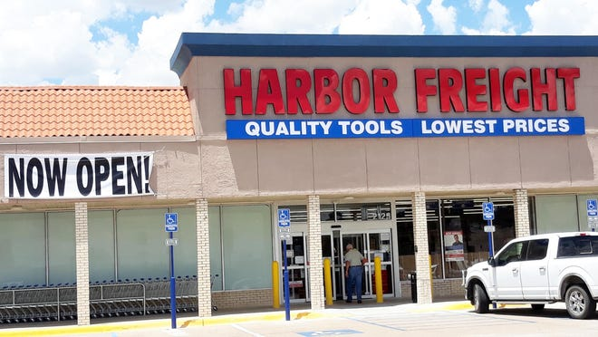 A new business, Harbor Freight Tools, is open in Stephenville's University Plaza on West Washington Street.