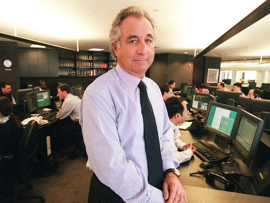 Bernard L. Madoff, chairman of Madoff Investment Securities,