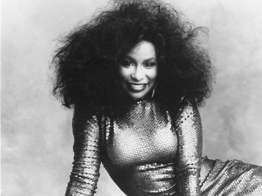 CHAKA KHAN // Hailed as the Queen of Funk, the emotive