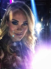 Carrie Underwood posted her first selfie since her injury in November.