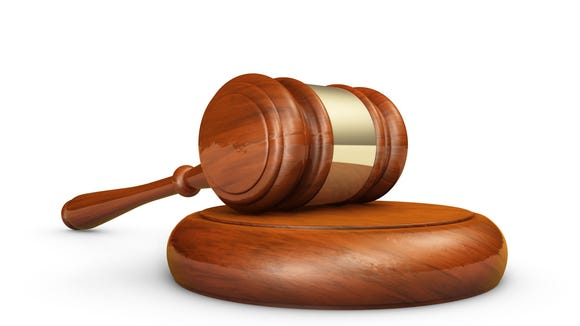 Law And Justice Gavel Symbol