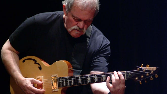 The John Abercrombie Organ Trio with Gary Versace and Adam Nussbaum will play shows at 6 and 10 p.m. on June 26 at Montage Music Hall, 50 Chestnut St.