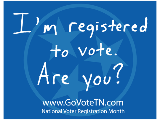 Secretary of State Tre Hargett launched #GoVoteTN campaign.