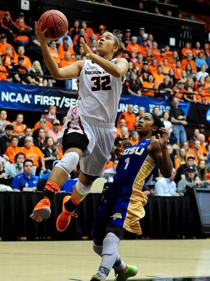Oregon State forward Deven Hunter has played in all 127 of the Beavers' games the last four seasons.