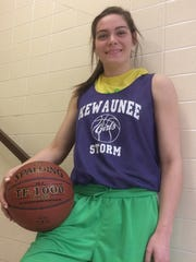 Kewaunee senior Brooke Geier is  averaging 20.6 points,