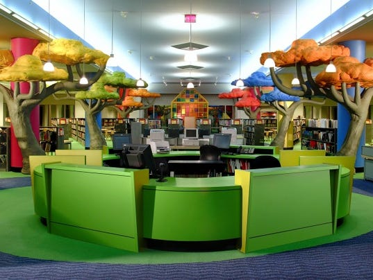 Memphis Public Library Study Room