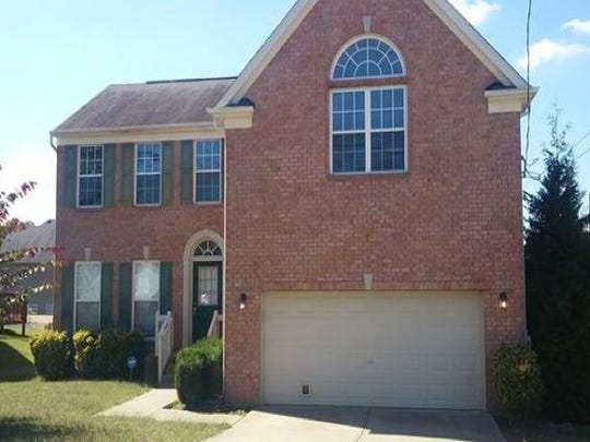This Davidson County house, at 2544 Kanlow Drive in Antioch, was built in 2003 and has 2,428 square feet.
