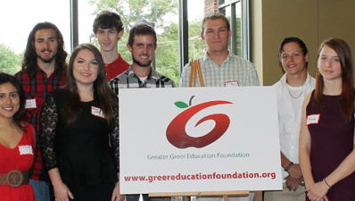 The Greater Greer Education Foundation has awarded 13 $1,000 scholarships to students from local schools.