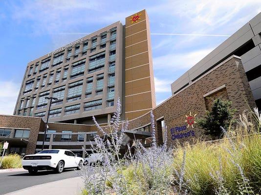 El Paso Children's Hospital in Central El Paso.