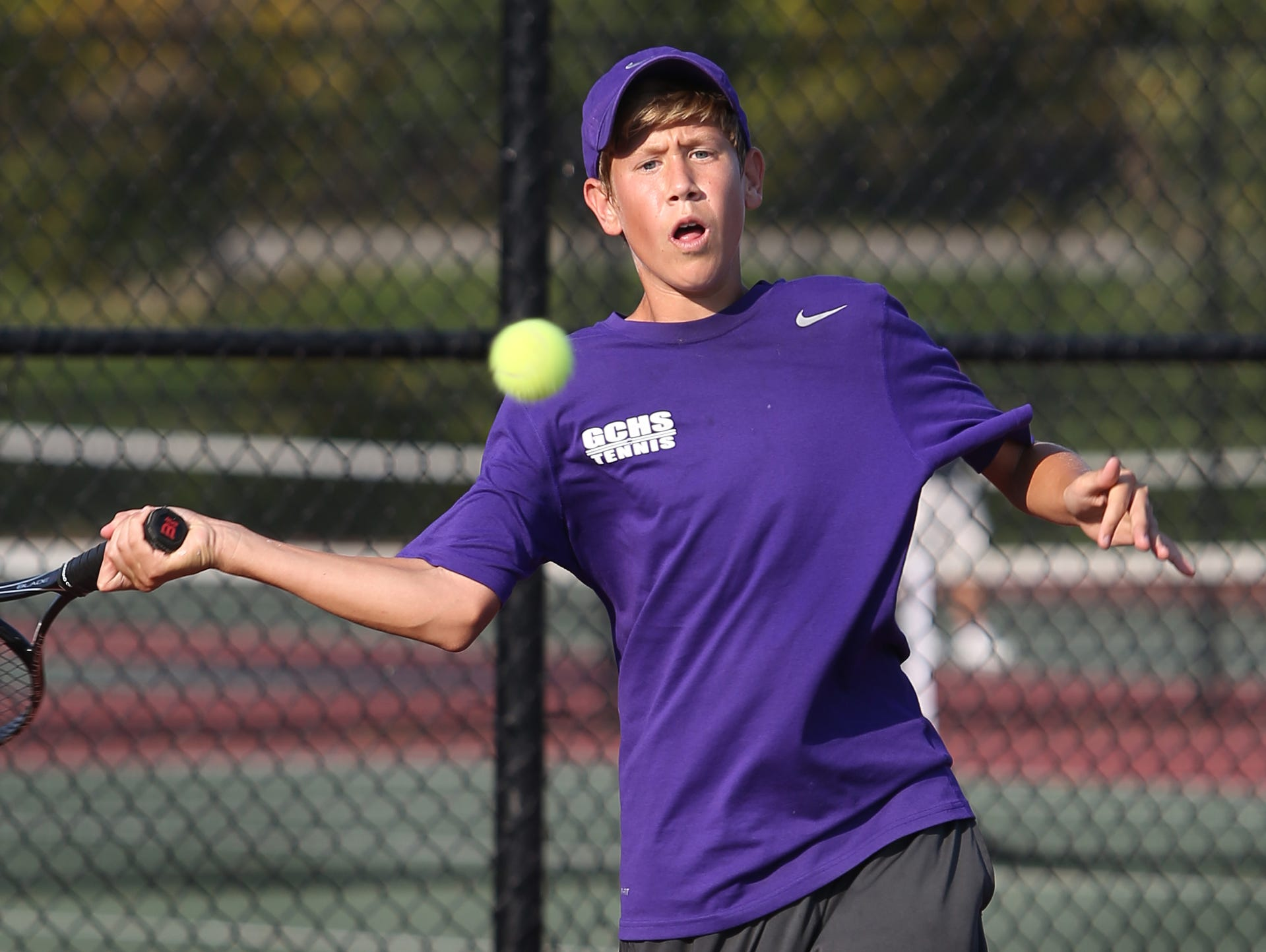 Guerin Catholic's Wyatt Metzger was an all-state selection in 2015.