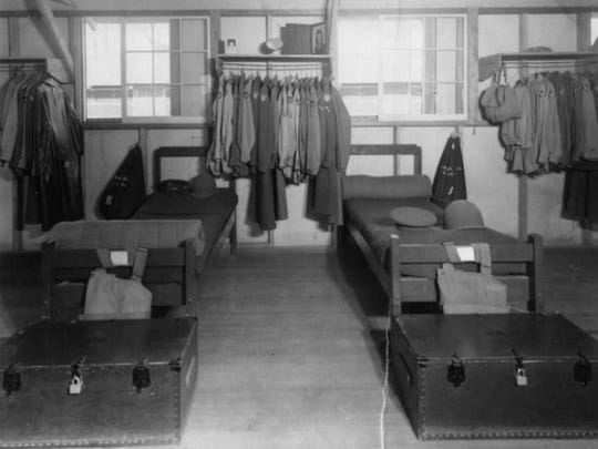 These are the barracks at Williams Field Air Force