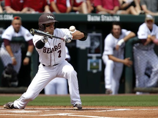 Missouri State shortstop Joey Hawkins set an MVC record with 62 career sacrifice bunts. He was drafted in the 40th round by the St. Louis Cardinals.