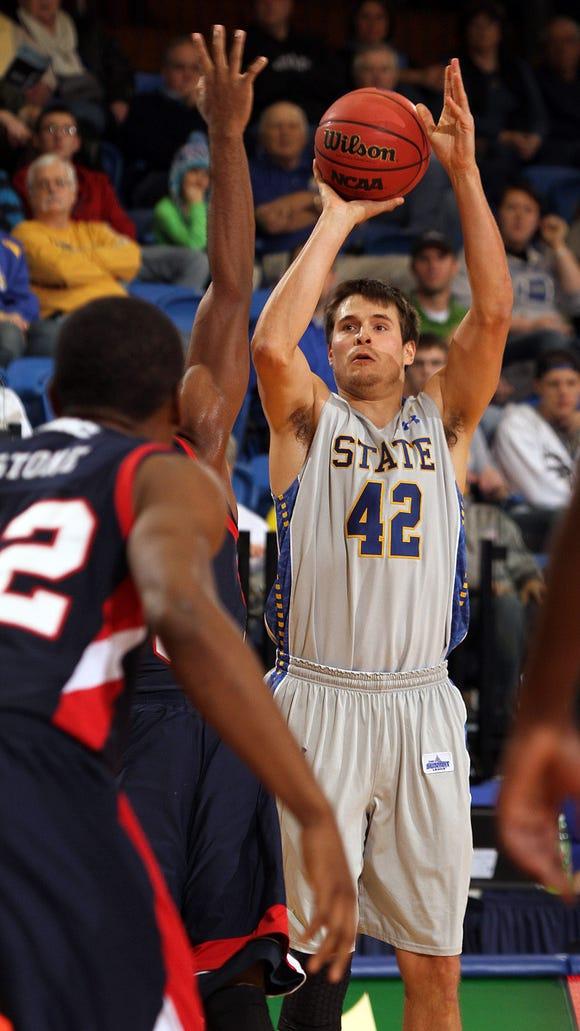 Jordan Dykstra helped SDSU reach two NCAA Division