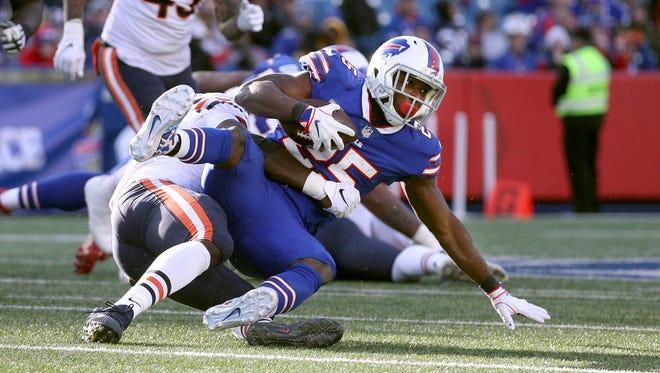 Bills running back LeSean McCoy was shut down by the Bears defense.