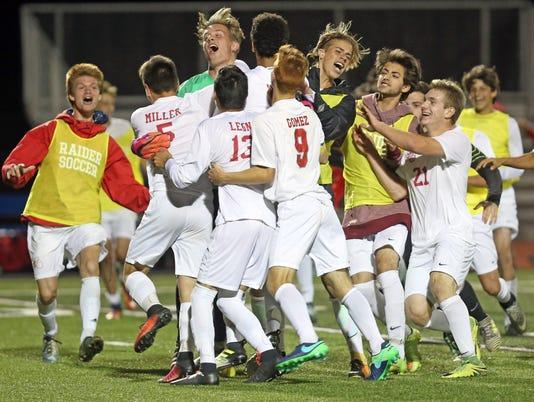 Red Hook vs Rhinebeck boys soccer