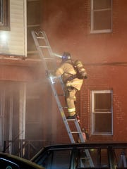 Firefighters from several area departments responded to a multiple family dwelling Sunday evening, April 30, at 10:41 p.m at 430 N 9th Street in Lebanon.