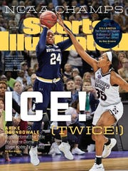 Arike Ogunbowale is featured on the cover of Sports