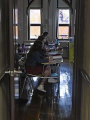 In February, junior high students at Lexington study
