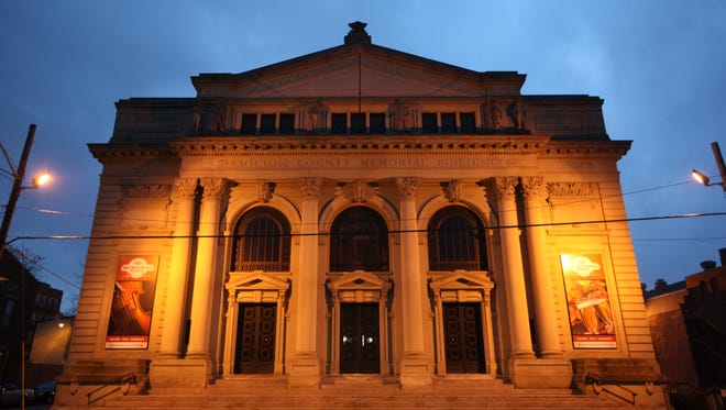 Memorial Hall is located next to Music Hall on Elm Street in Over-The-Rhine.