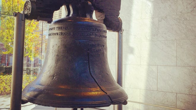 It seems appropriate lately that a cracked bell is a symbol of our democracy.