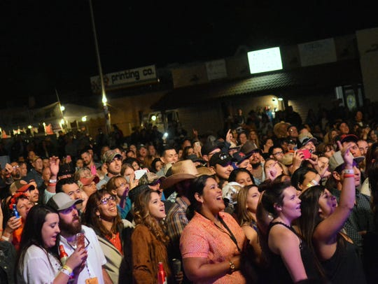The 2016 Las Cruces Country Music Festival saw an increase