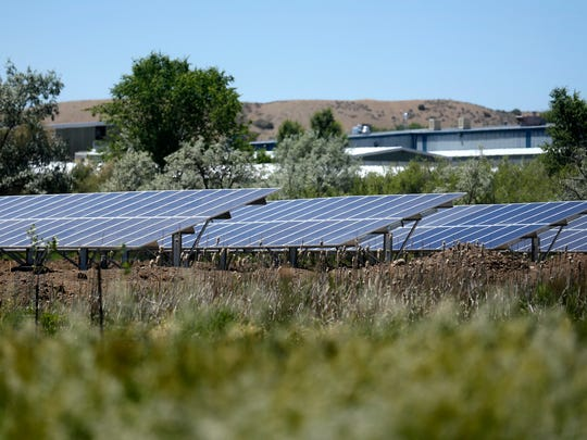 Guzman Energy is borrowing money to finance the completion of its new solar farm in west Aztec.