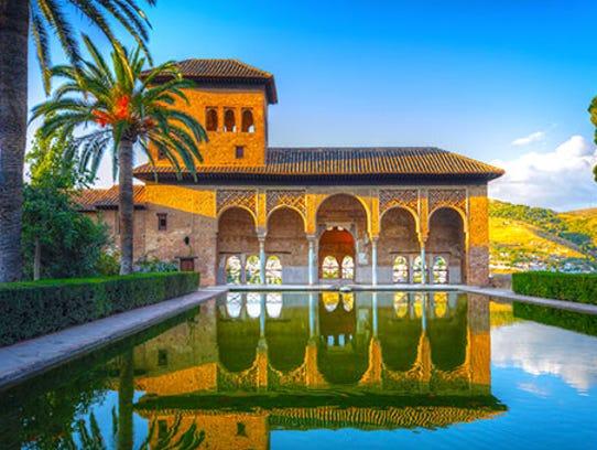 Alhambra Palace Collette Spain Tour