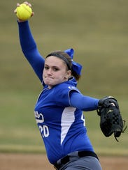 Maddie Gable fired a four-hit shutout on Wednesday