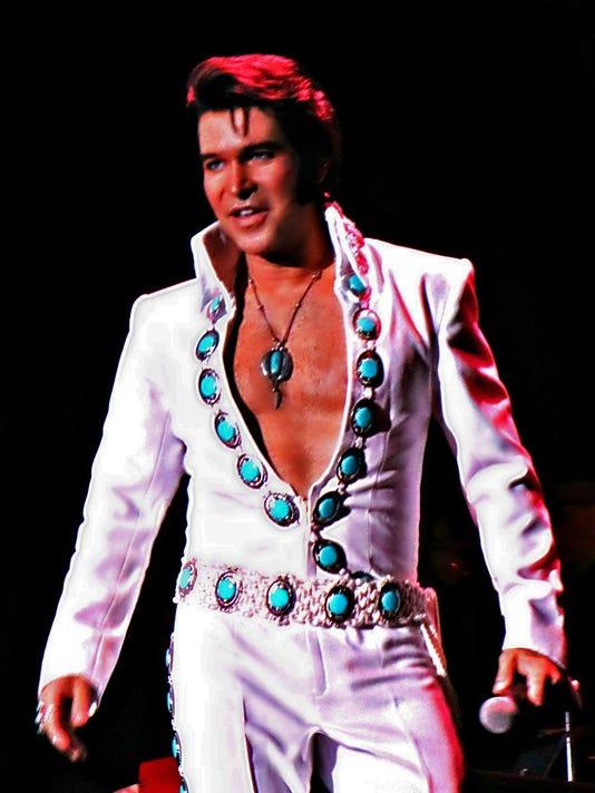 Elvis tribute artist Ted Torres