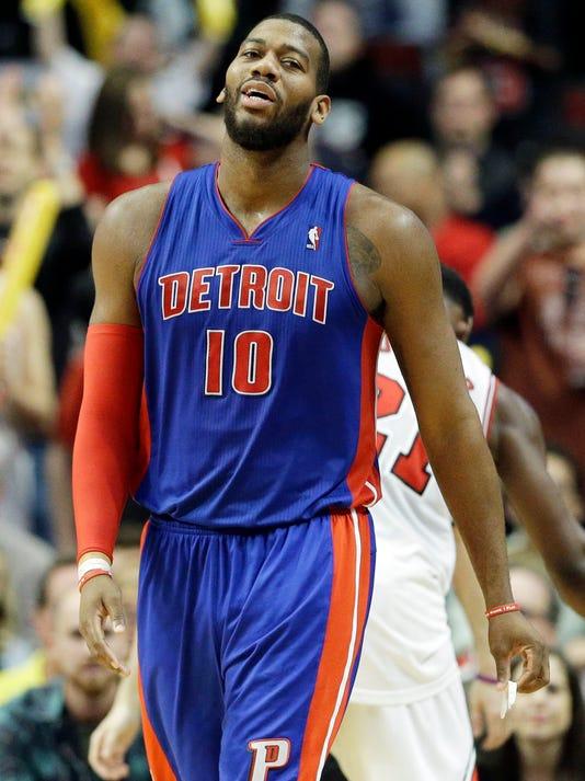 Pistons Monroe Suspended  Basketball