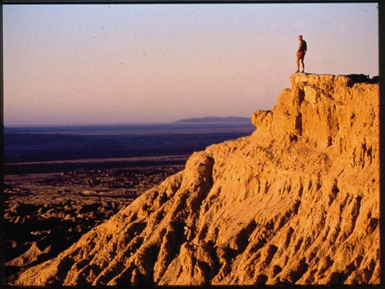 Anza-Borrego is a vast parkland with history, wildlands and even mud caves.