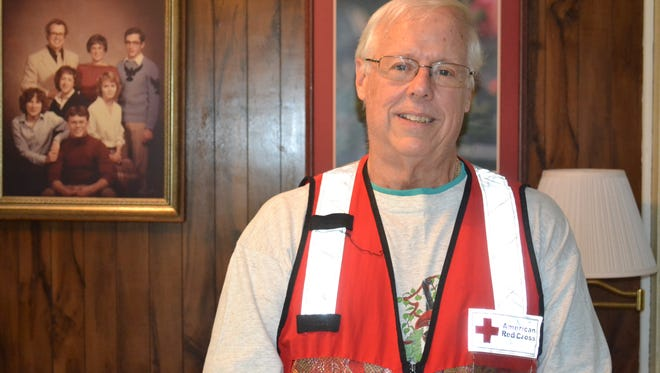 For the past 12 years, Larry Coats has traveled to cities across the country to help with mobile feeding as a Red Cross volunteer. Each year, he spends about eight weeks on the road. He recently returned from Texas where he helped feed hundreds of people in the aftermath of Hurricane Harvey.