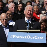Joe Biden says Republican health care is a giveaway to the rich