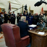 Trump presents 'fake news' awards for 10 stories — some of which really were false
