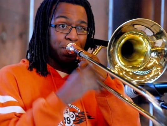 In February, St. Clair Simmons Jr. will travel to Los Angeles to play with the Grammy Jazz Ensemble. The group will get the chance to play with Best New Artist nominee Esperanza Spalding.