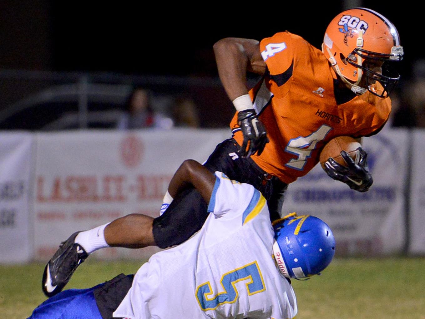 Tyler Dysart (4) and the South Gibson Hornets hope to improve upon a disappointing 2014 season.
