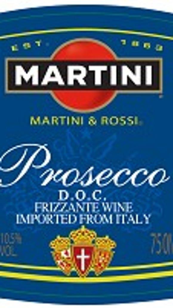 Martini & Rossi Prosecco.