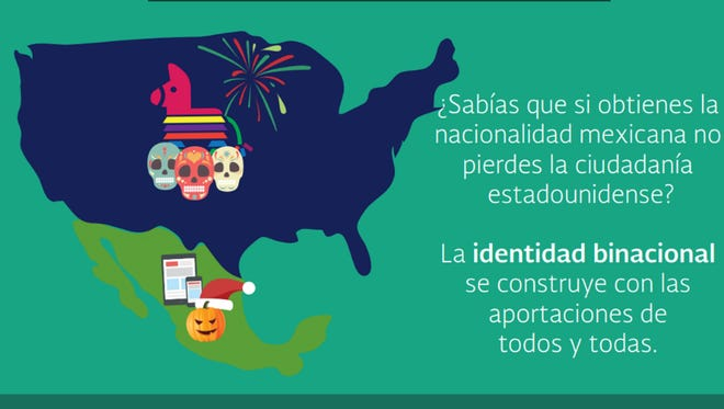Tramita la doble nacionalidad de tus hijos en el Consulado de México en Phoenix.