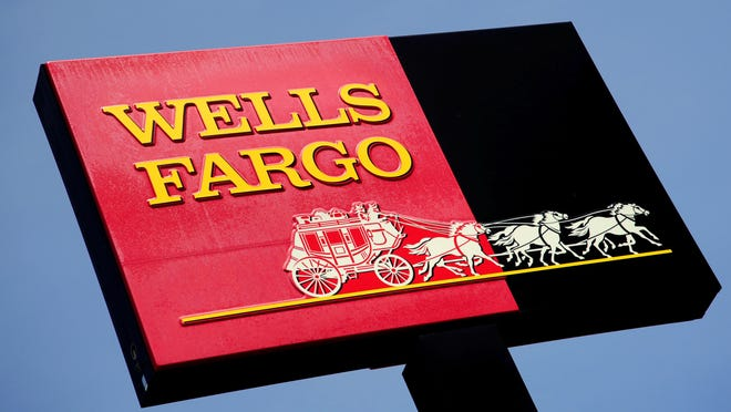 A Wells Fargo bank in Woodbury, Minn.