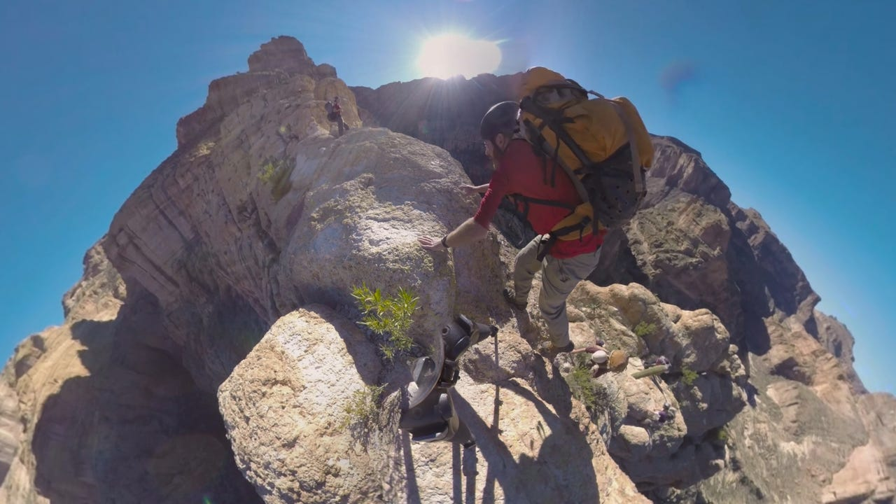 Go VR canyoneering in the Arizona desert, take coaster thrill ride