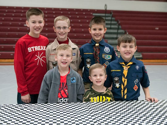 Cyle and Shannon Stull, of Clyde, have six sons: (clockwise) Cole, 12, Collin, 11, Clay, 10, Cohen, 8, Connor, 4, and Conley, 6.