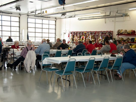Sandusky Township Fire and Rescue hosted its 24th annual Chicken Dinner at the fire station on Oak Harbor Road on Sunday.