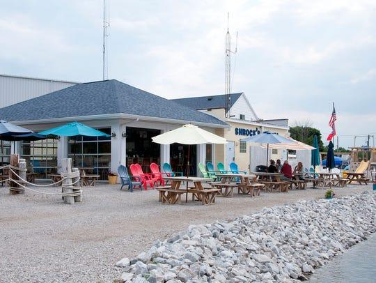 Hidden Beach Bar opened two years ago at Schrock's