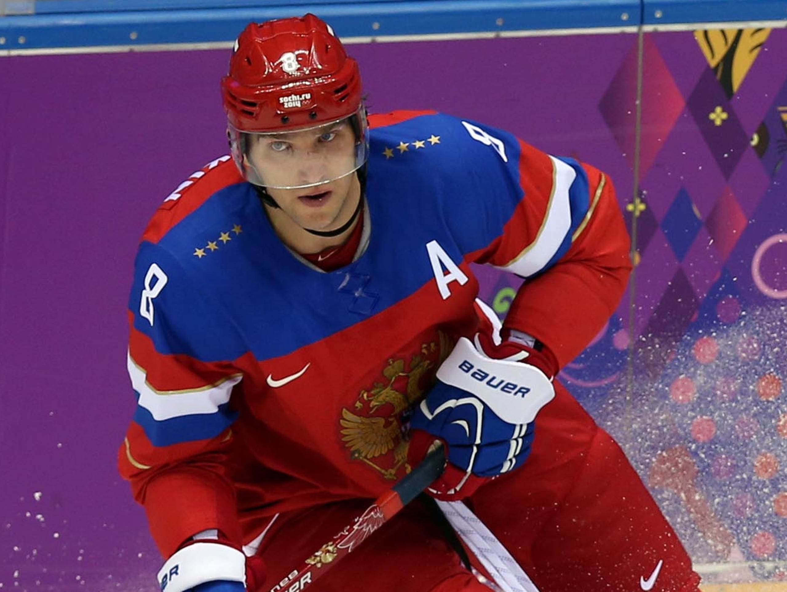 251e96ca2 Alex Ovechkin played for Team Russia in Sochi, but the NHL didn't let