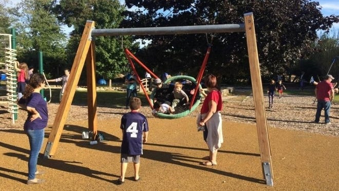 The Playscape at Ripley on Merriam Road in Concord is still closed due to the coronavirus.