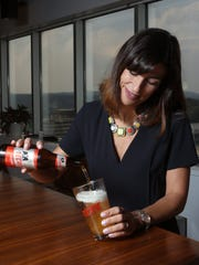 Esther Garcia, the new vice president of the Mexican beer Tecate.