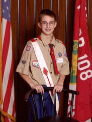 Aaron Eilerts of Eagle Grove was a Boy Scout so kind